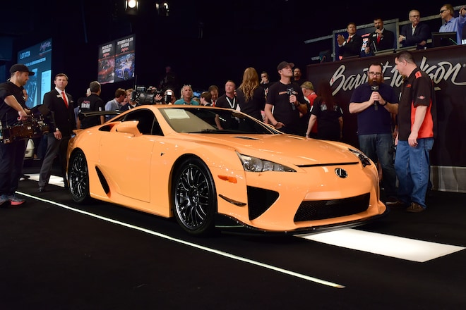 Top Ten Most Expensive Cars Sold At Barrett Jackson S 2018 Palm