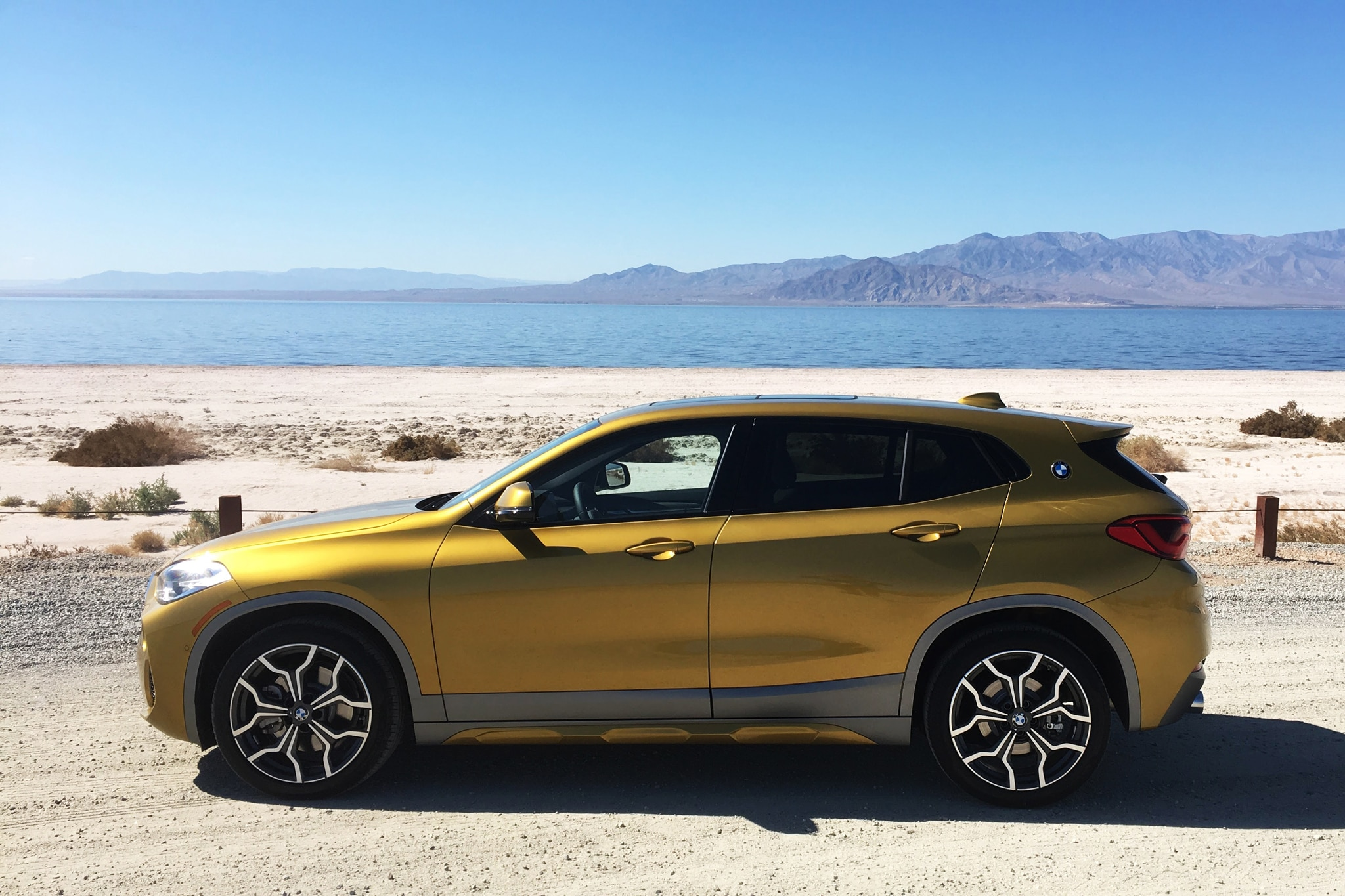 2018 BMW X2 XDrive 28i Left Side Salton Sea