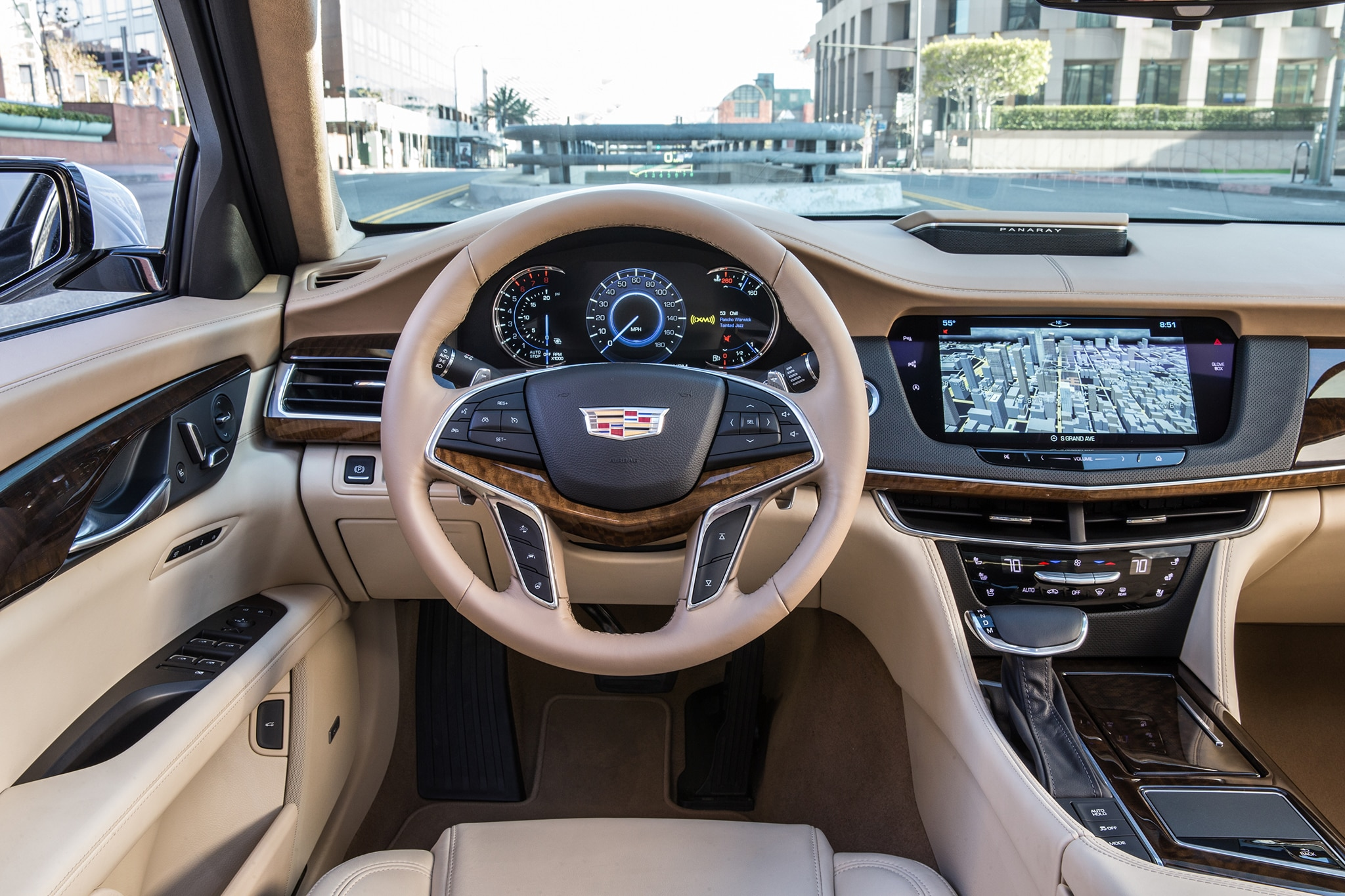 2018 Cadillac Ct6 Platinum Awd One Week Review Automobile Magazine