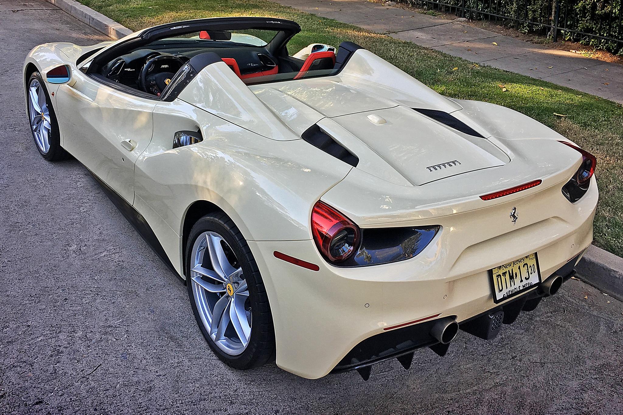 2018 Ferrari 488 Spider One Week Review Automobile Magazine