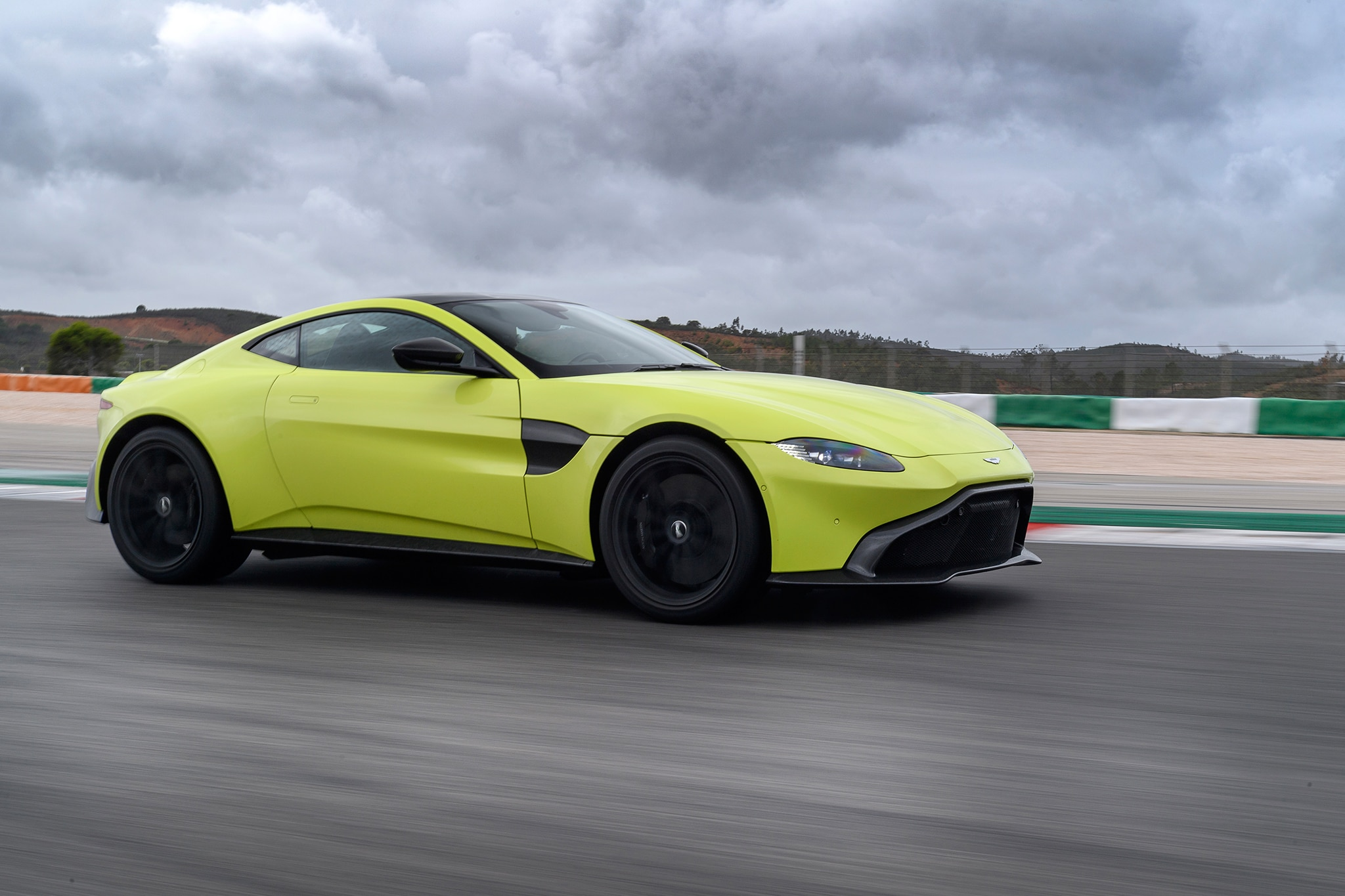 2019 aston martin v8 vantage first drive review | automobile magazine