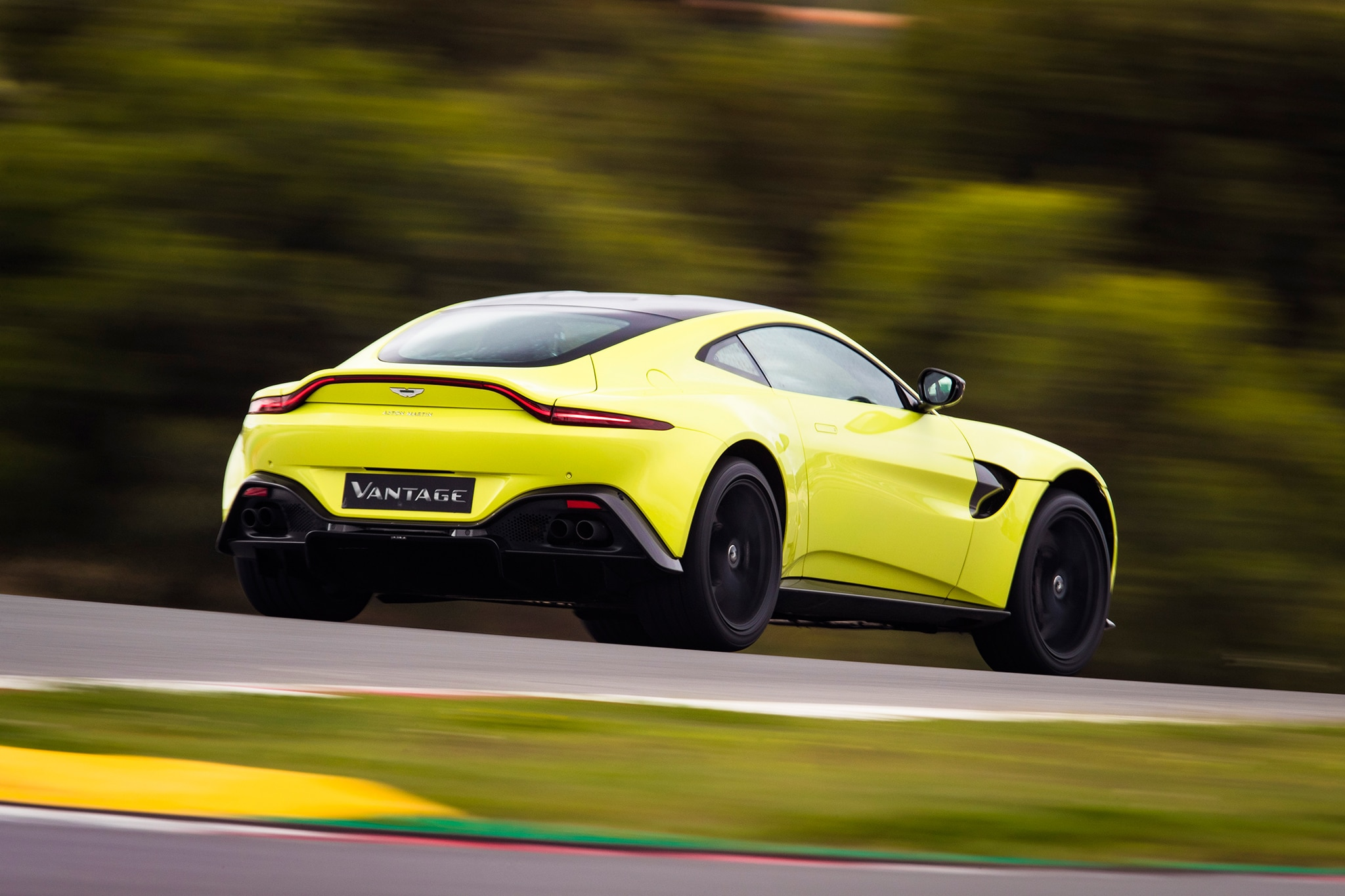 2019 Aston Martin V8 Vantage First Drive Review Automobile Magazine