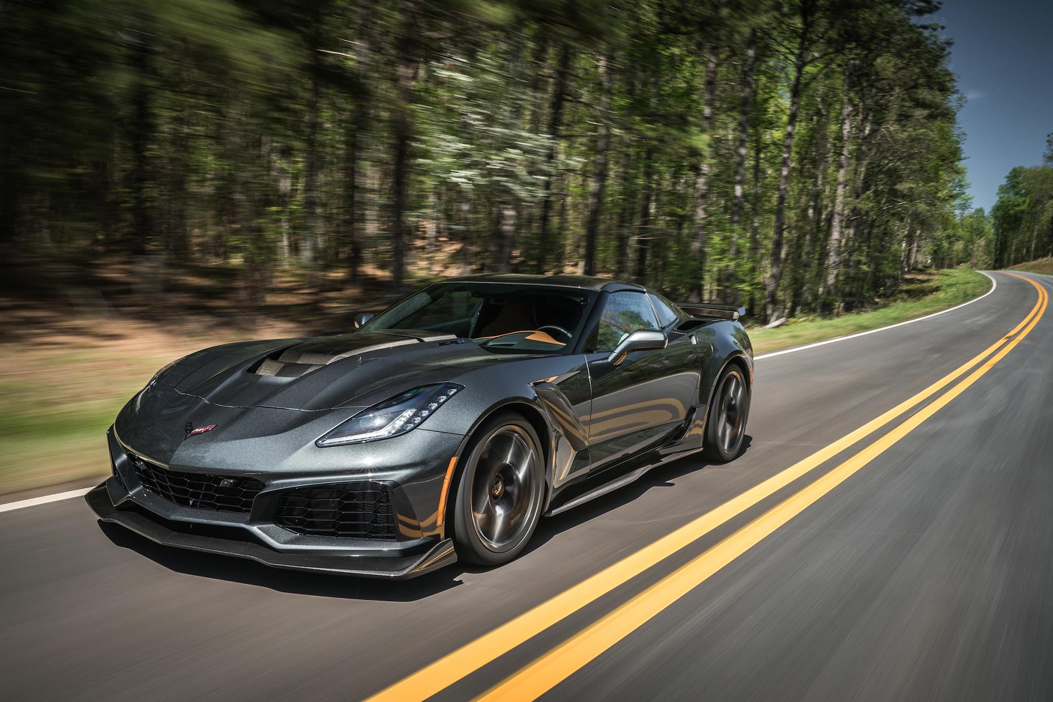 2019 Chevrolet Corvette Zr1 First Drive Automobile Magazine