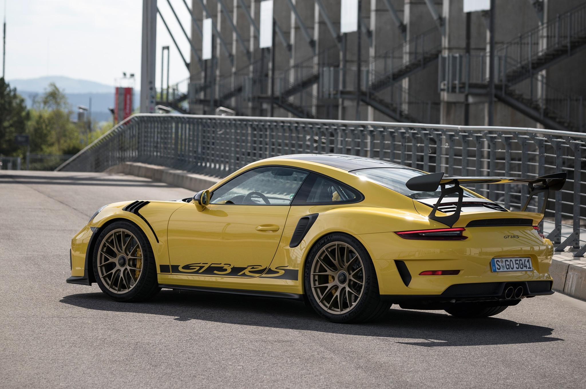 First Drive: 2019 Porsche 911 GT3 RS | Automobile Magazine