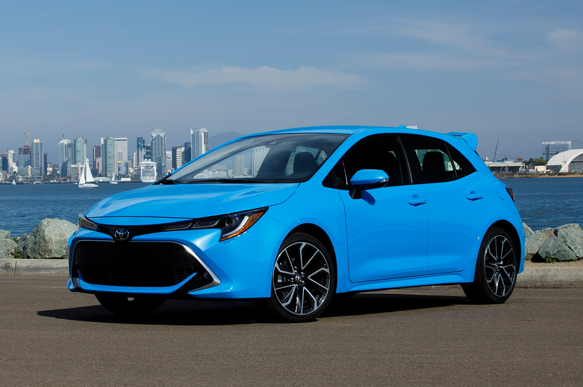 First Drive 2019 Toyota Corolla Hatchback Automobile