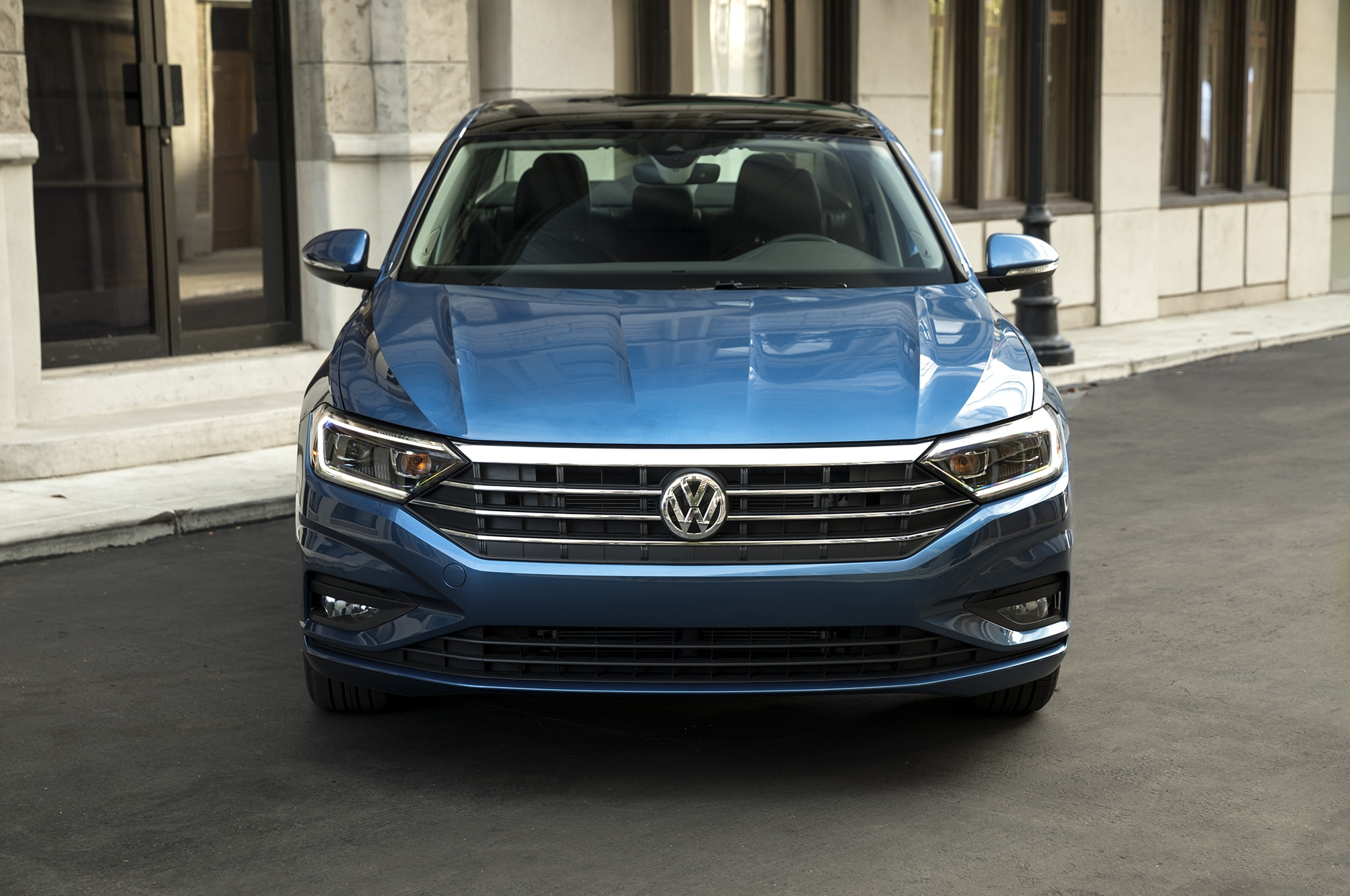 2019 volkswagen jetta first drive review automobile magazine. Black Bedroom Furniture Sets. Home Design Ideas