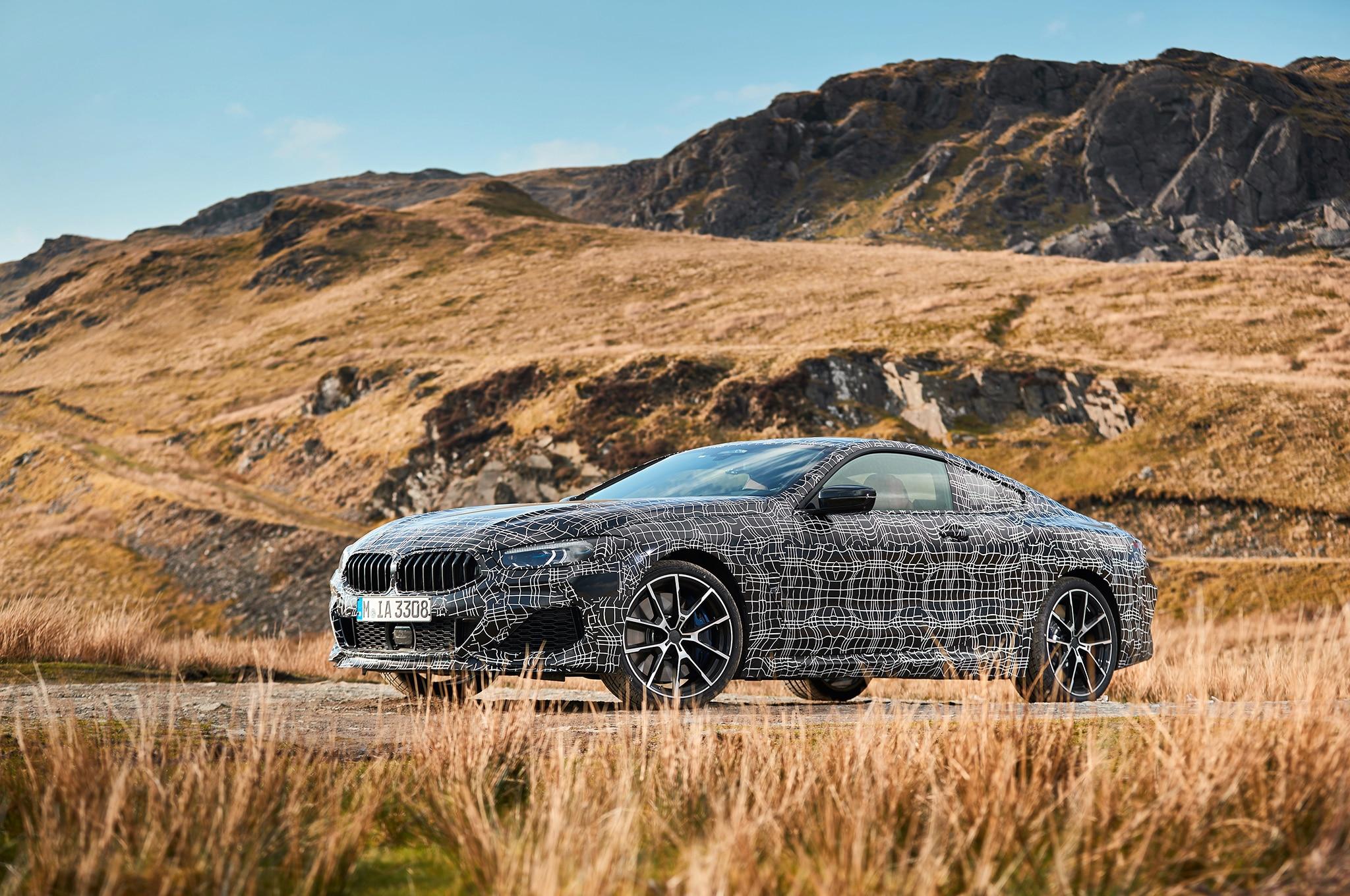2019 Bmw 850i Xdrive Prototype Drive Automobile Magazine Engine Wiring Harness Show More