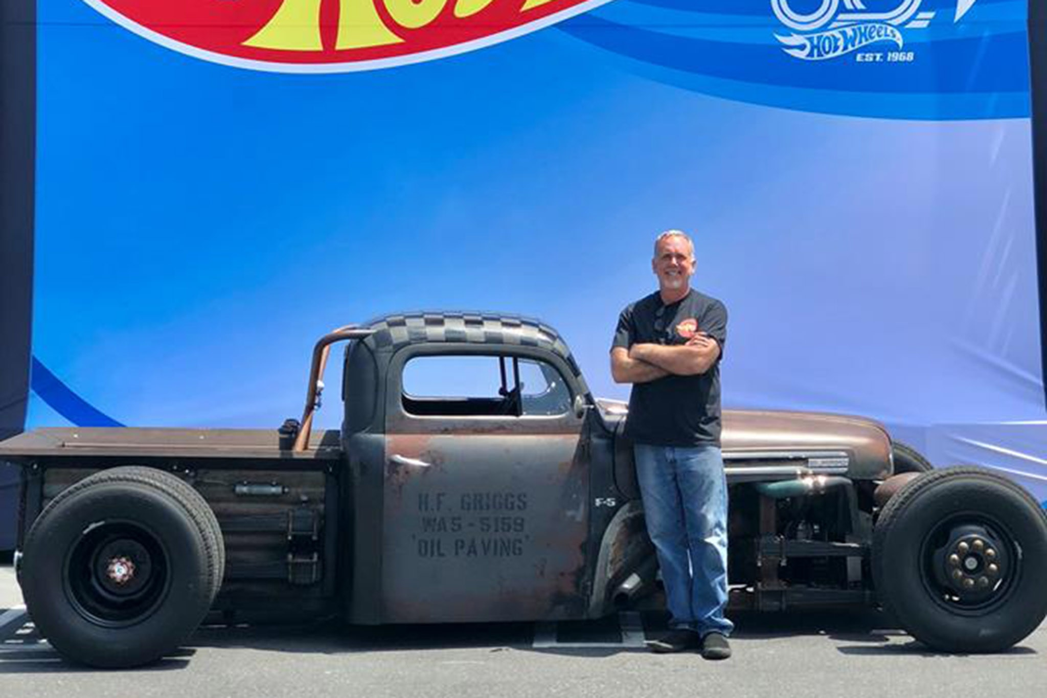 Hot Wheels Legends 50th Anniversary Tour Kicks Off With Jay Leno 1968 Chevy Truck Show More
