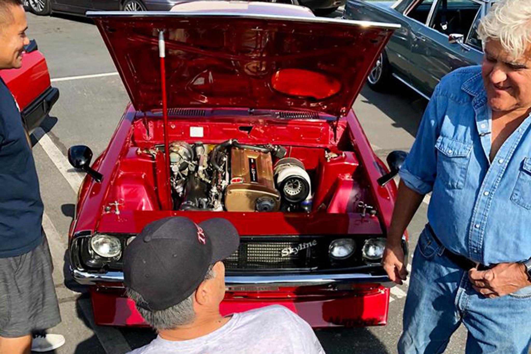 df4ba80eac984b Hot Wheels Legends 50th Anniversary Tour Kicks Off with Jay Leno ...