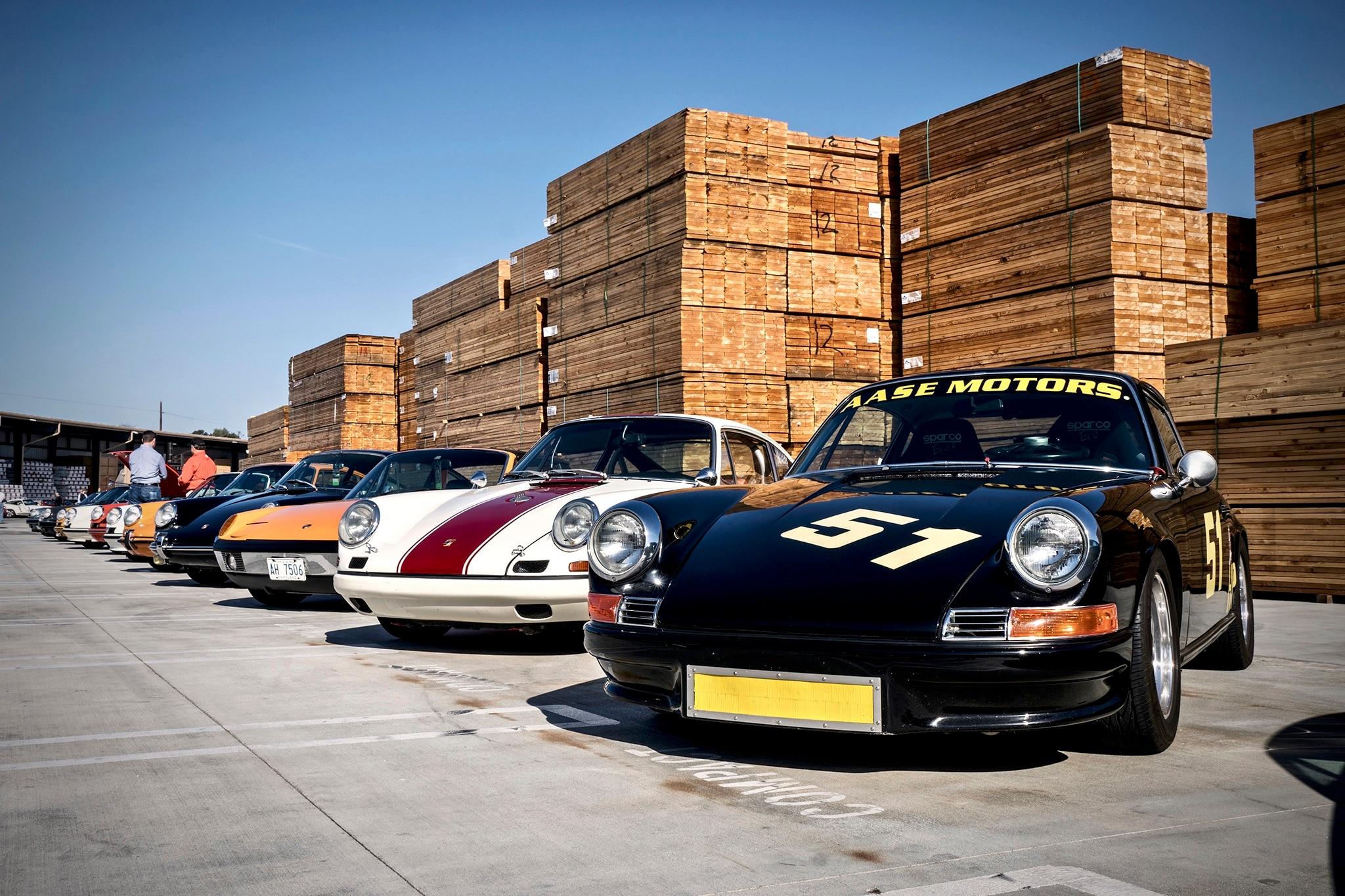 Luftgekuhlt 5 Porsche Meet At Ganahl Lumber 17