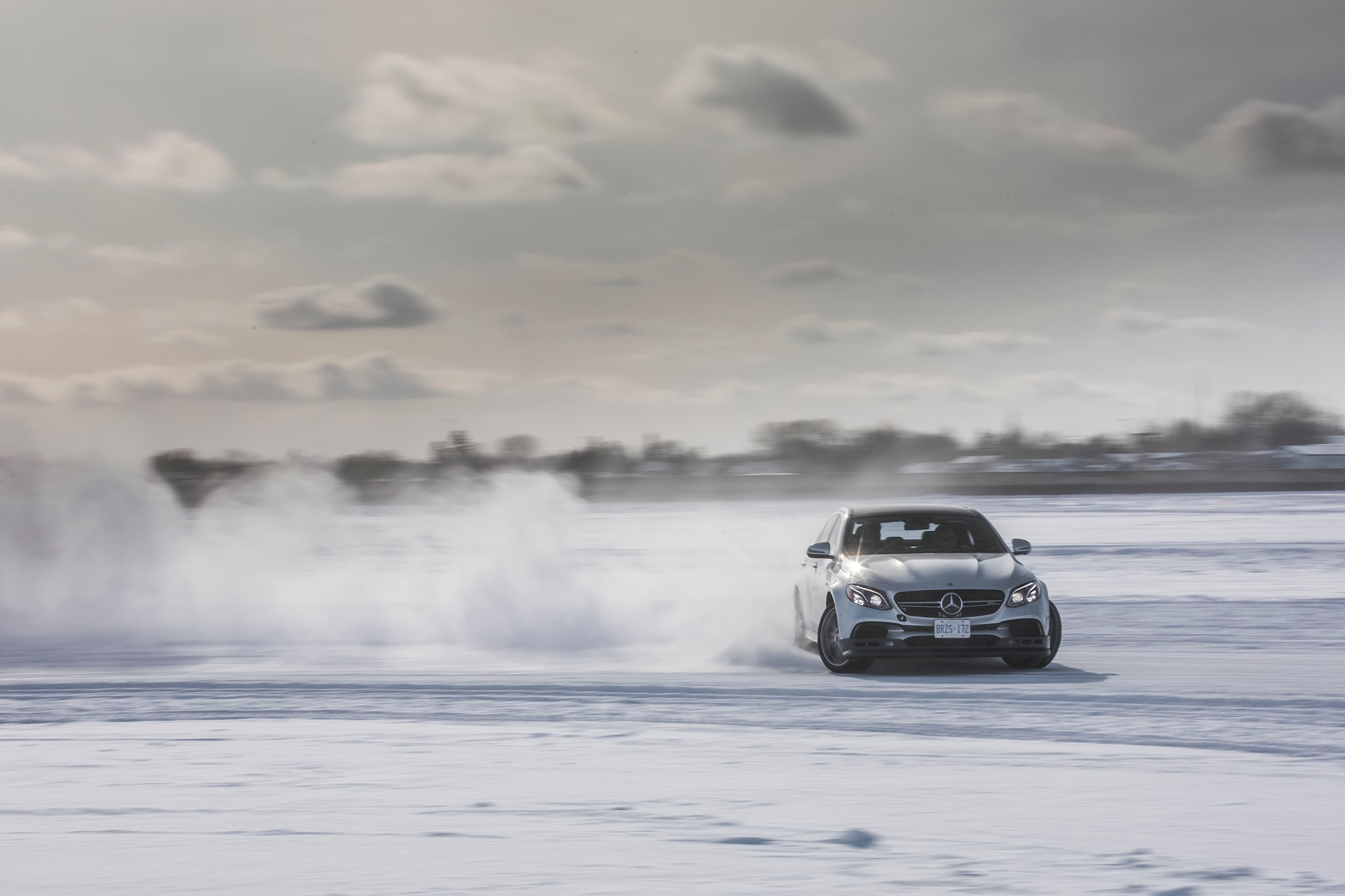Amg Driving Academy >> Sliding in the Snow at Mercedes-AMG's Winter Sporting Driving School | Automobile Magazine