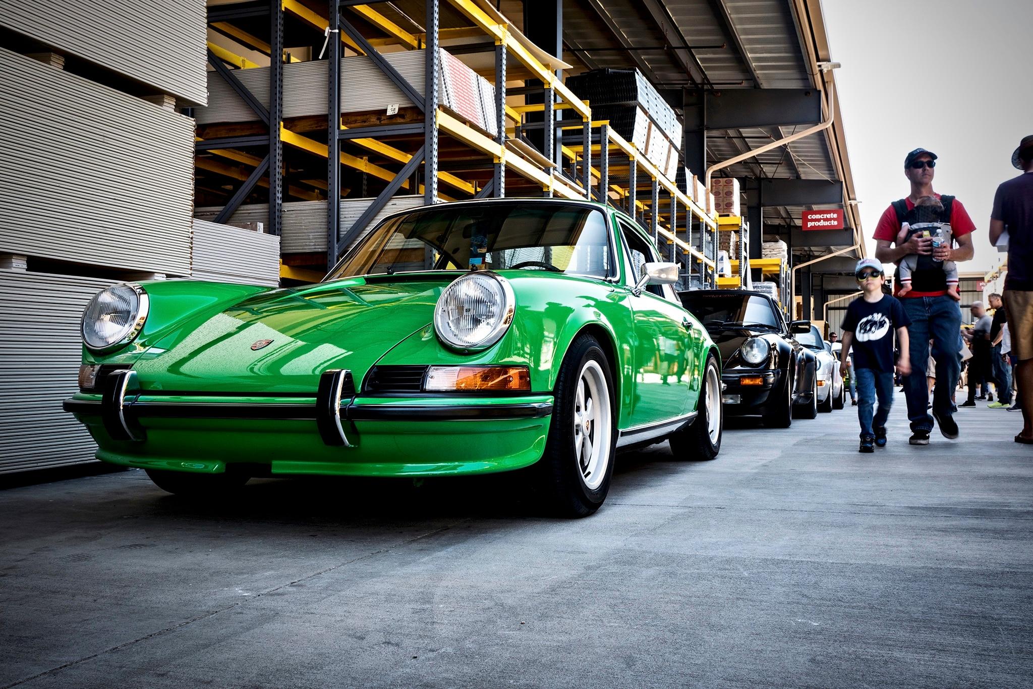 Porsche 911 Lineup 8 Luftgekuhlt 5