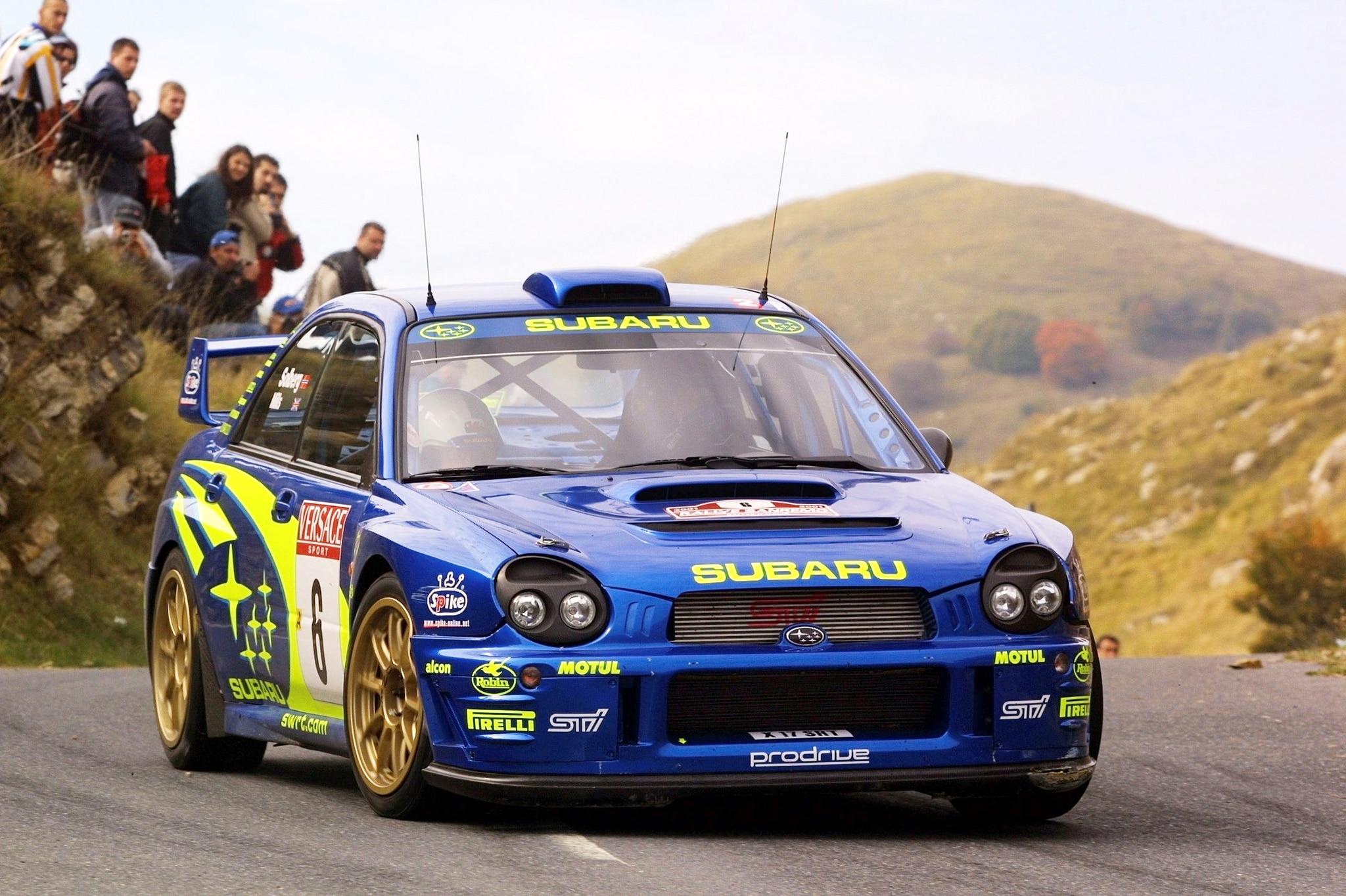 Subaru 2001_WRC