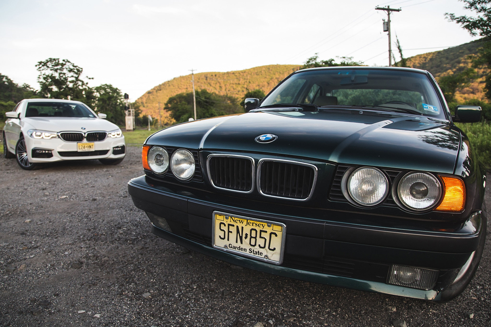 Through the years 1989 1995 bmw 5 series e34 automobile magazine show more publicscrutiny Images