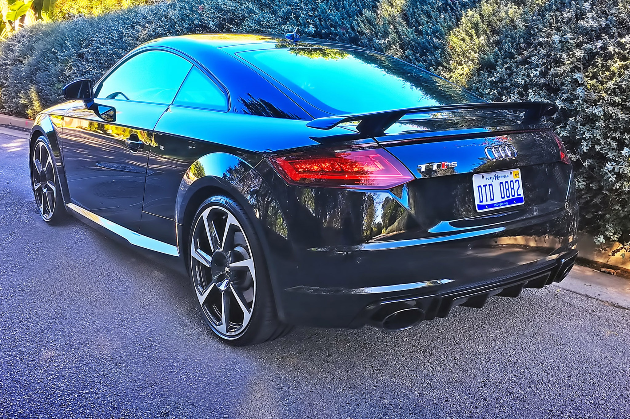 2018 audi tt rs one week review automobile magazine. Black Bedroom Furniture Sets. Home Design Ideas