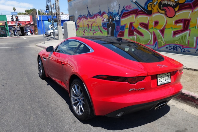 2018 Jaguar F Type Coupe Quick Take Review Automobile