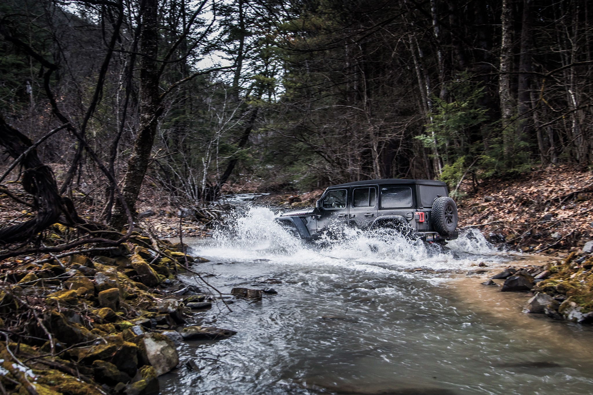 Driving the Mid-Atlantic Backcountry Discovery Route in a 2018 Jeep