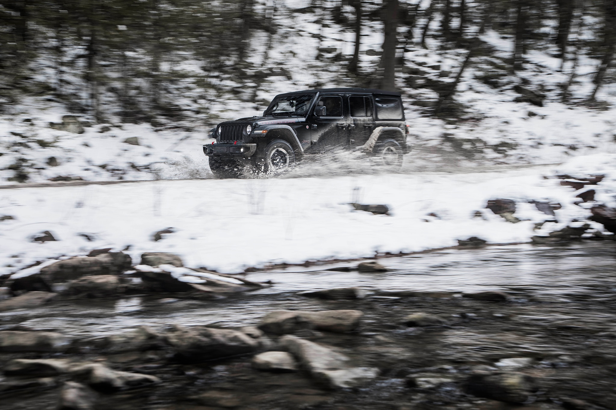 Driving The Mid Atlantic Backcountry Discovery Route In A 2018 Jeep Wrangler Water Show More