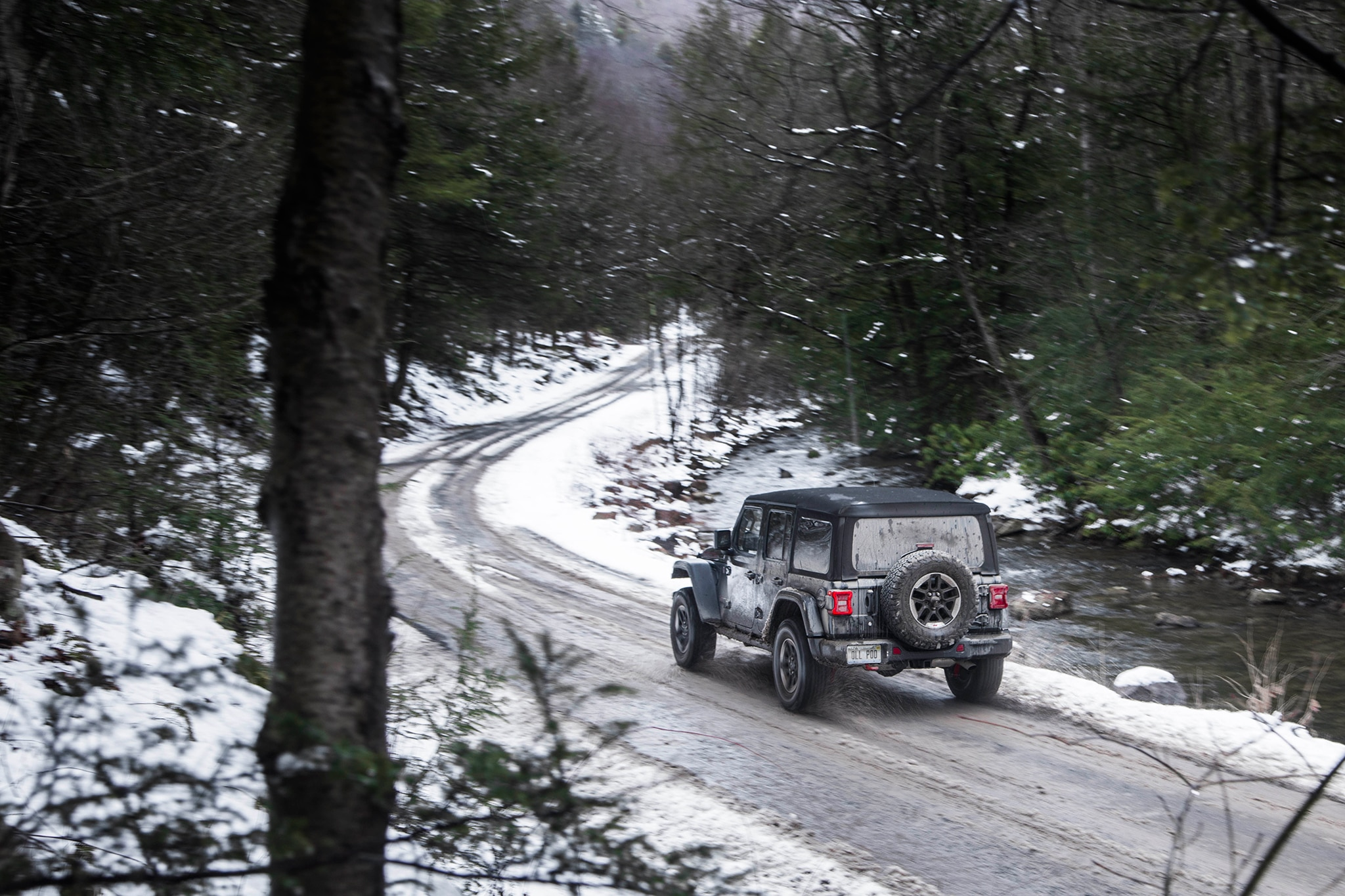 driving the mid atlantic backcountry discovery route in a 2018 jeep