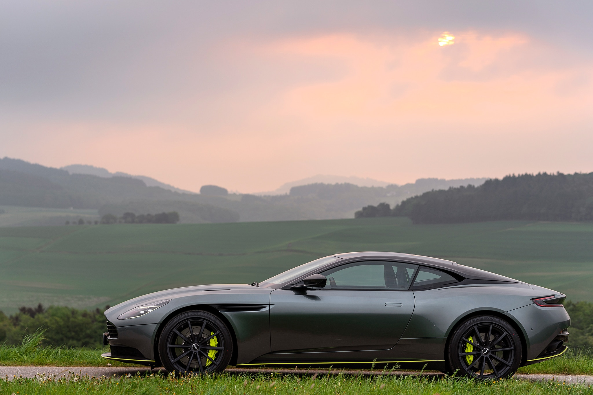 2019 aston martin db11 amr signature edition first drive review automobile magazine. Black Bedroom Furniture Sets. Home Design Ideas