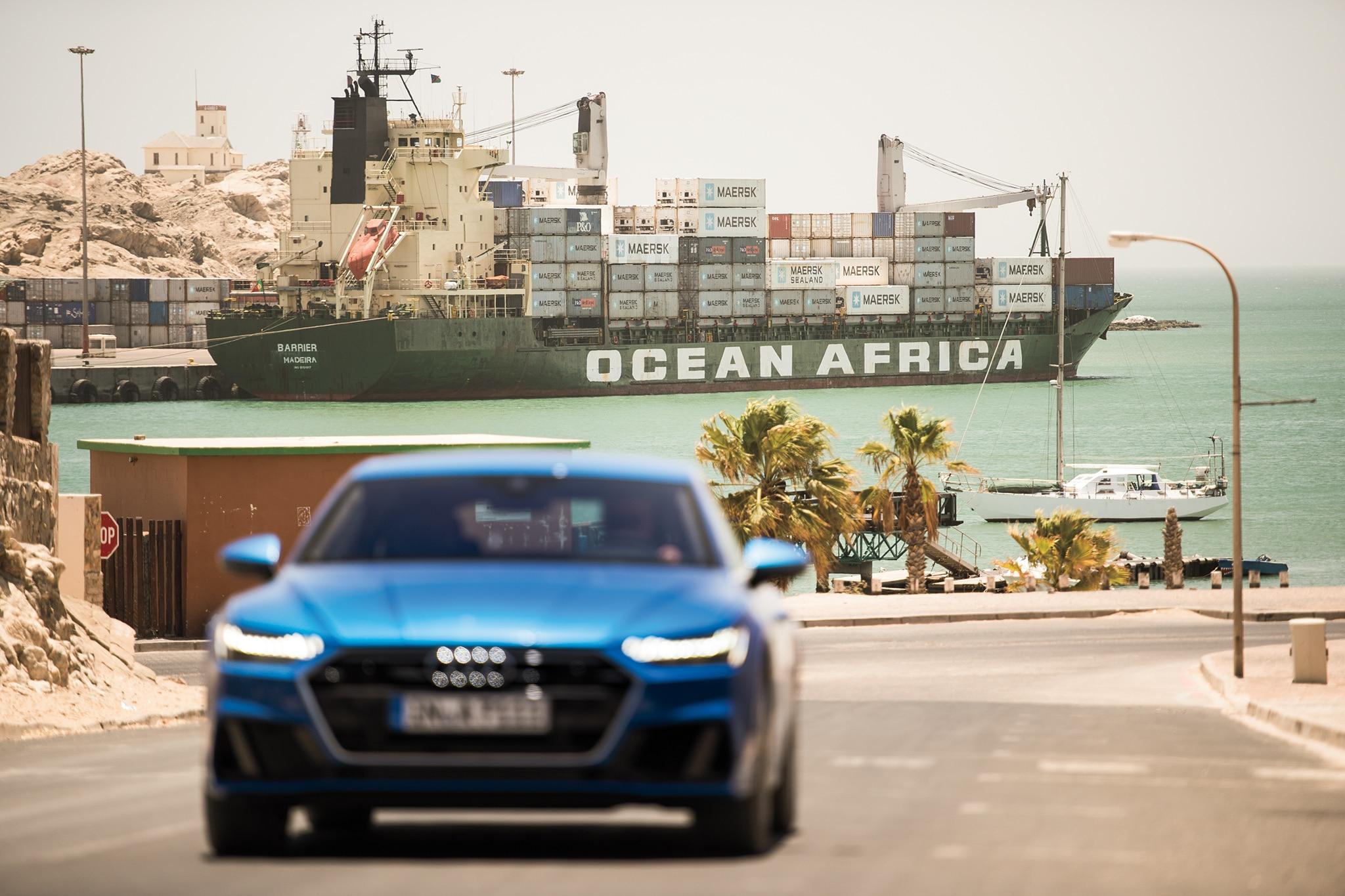 The Audi A Sportback Goes To Lüderitz Automobile Magazine - Audi 87