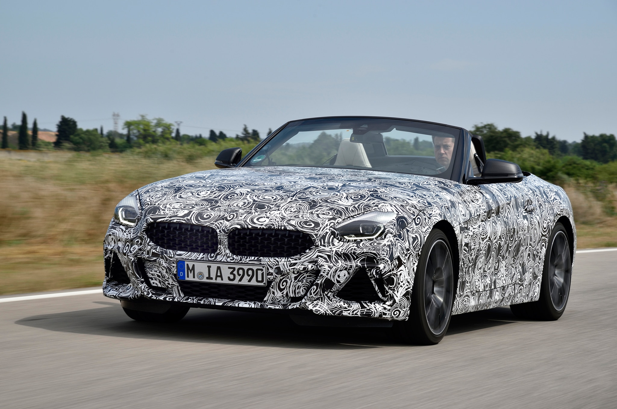 2019 Bmw Z4 M40i Roadster Prototype Drive Review
