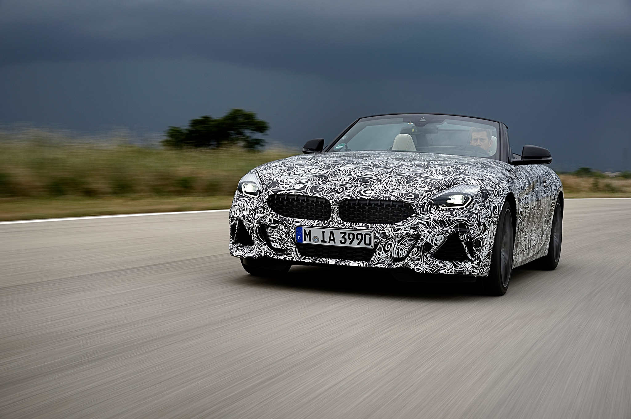 2019 Bmw Z4 M40i Roadster Prototype Drive Review Automobile Magazine