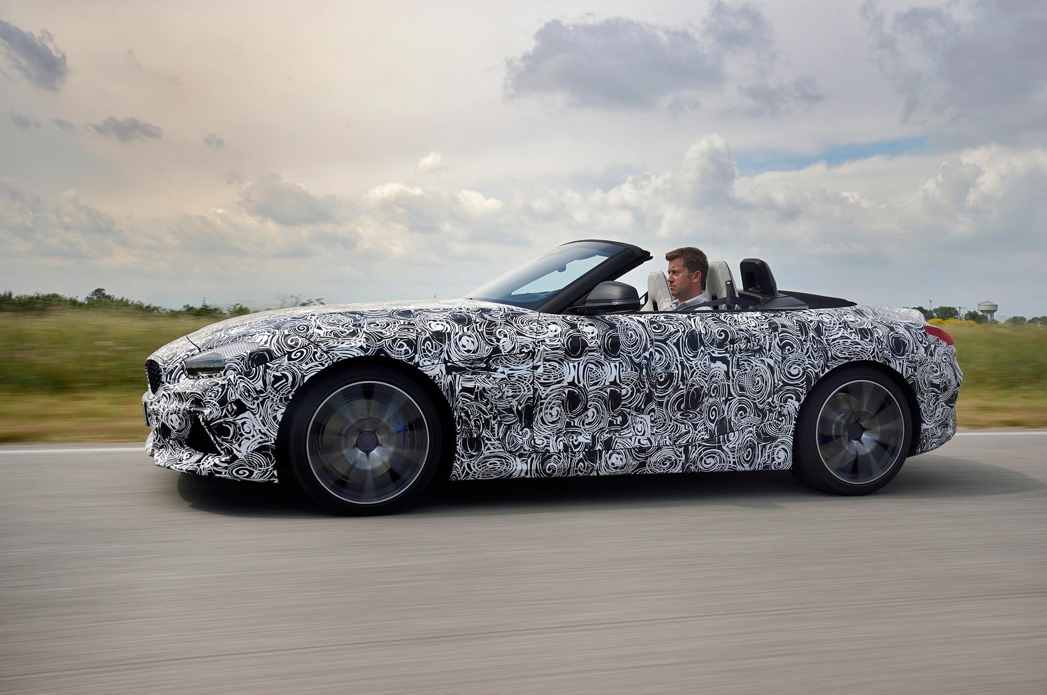 2019 Bmw Z4 M40i Roadster Prototype Drive Review Automobile Magazine