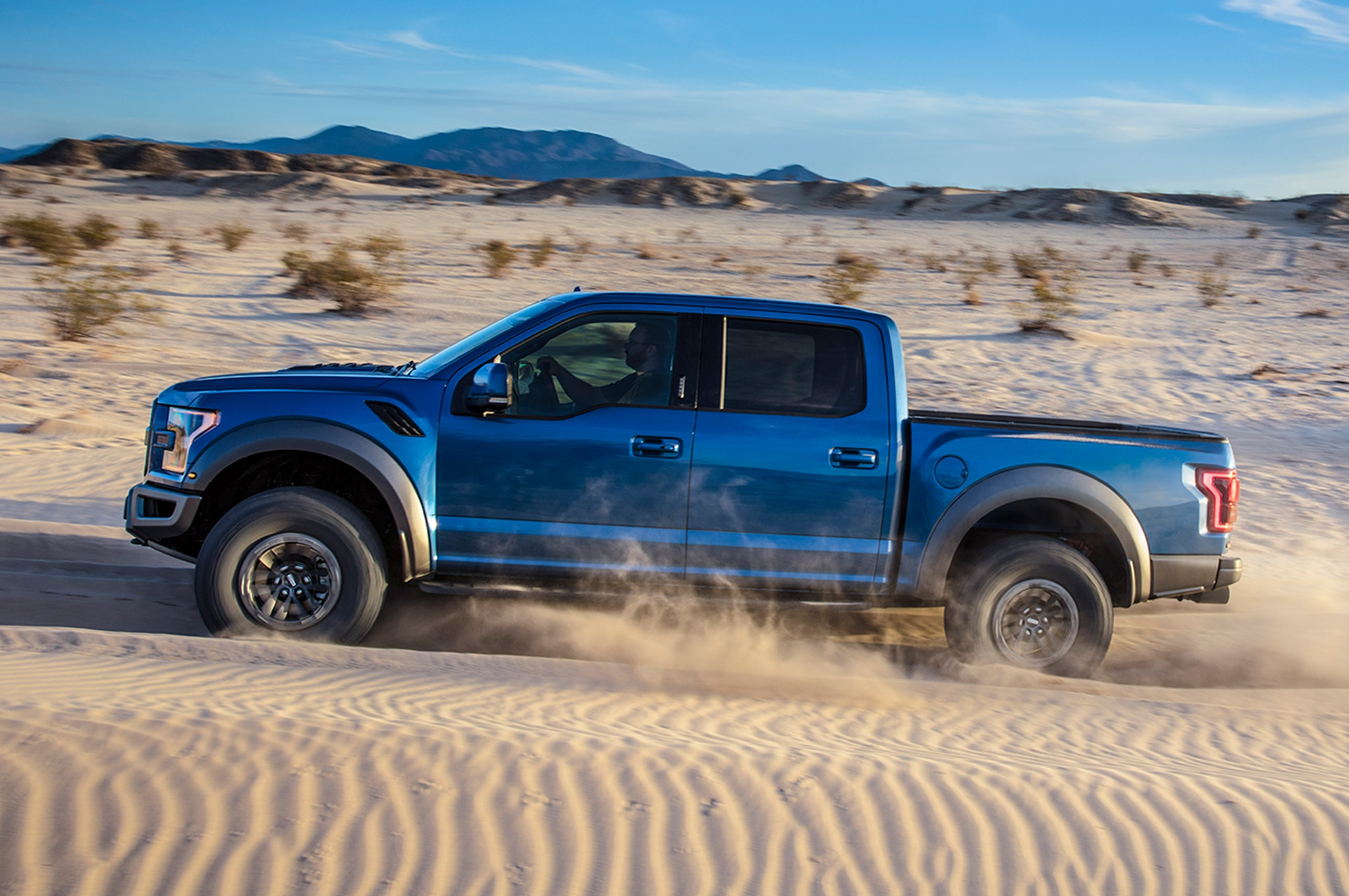2019 Ford F 150 Raptor Side In Motion 04
