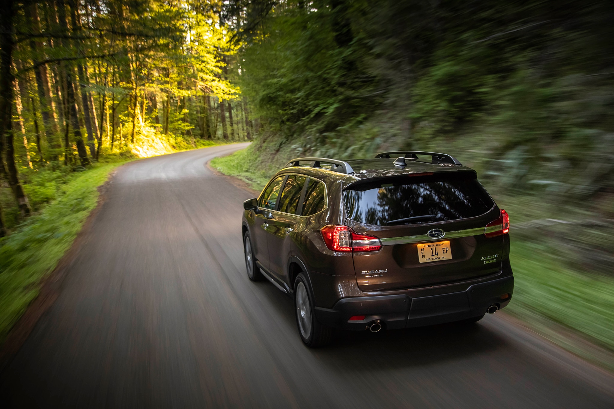 2019 Subaru Ascent First Drive Review Automobile Magazine 2000 Outback Fan Belt Show More