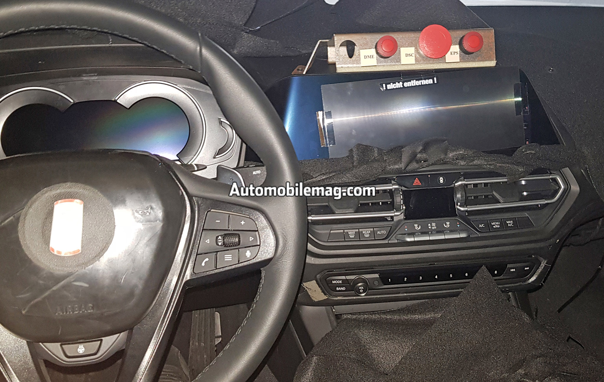 See The Next Gen BMW 3 Series Interior In These Close Up Spy Shots