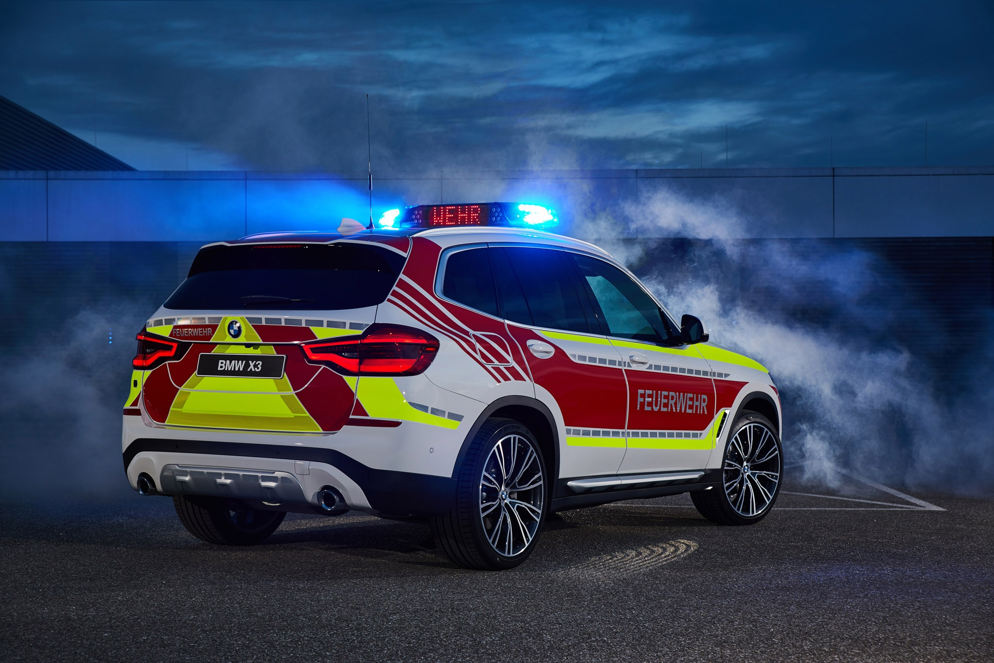 BMW X3 XDrive20d As A Fire Service Command Vehicle 1