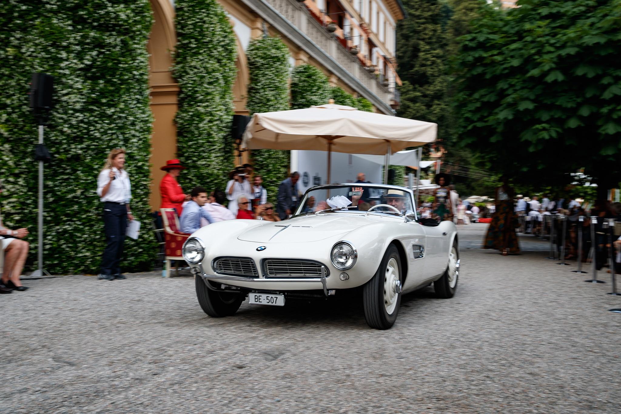 1958 BMW 507 Villa DEste 2018