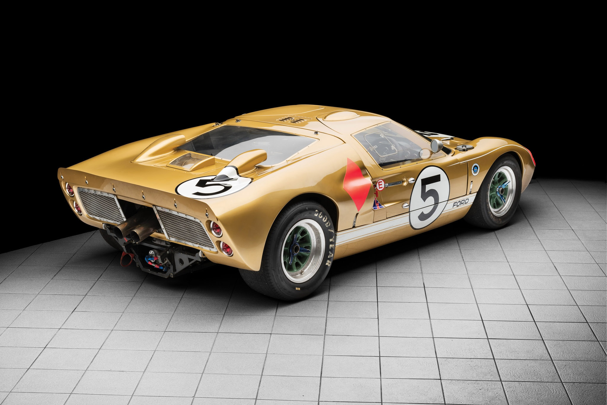 rm sotheby s to auction le mans podium finishing 1966 ford. Black Bedroom Furniture Sets. Home Design Ideas