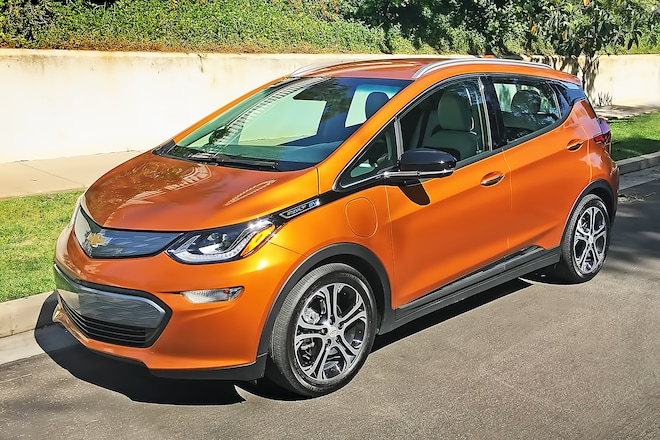 2018 Chevrolet Bolt Ev Premier One Week Review Automobile Magazine