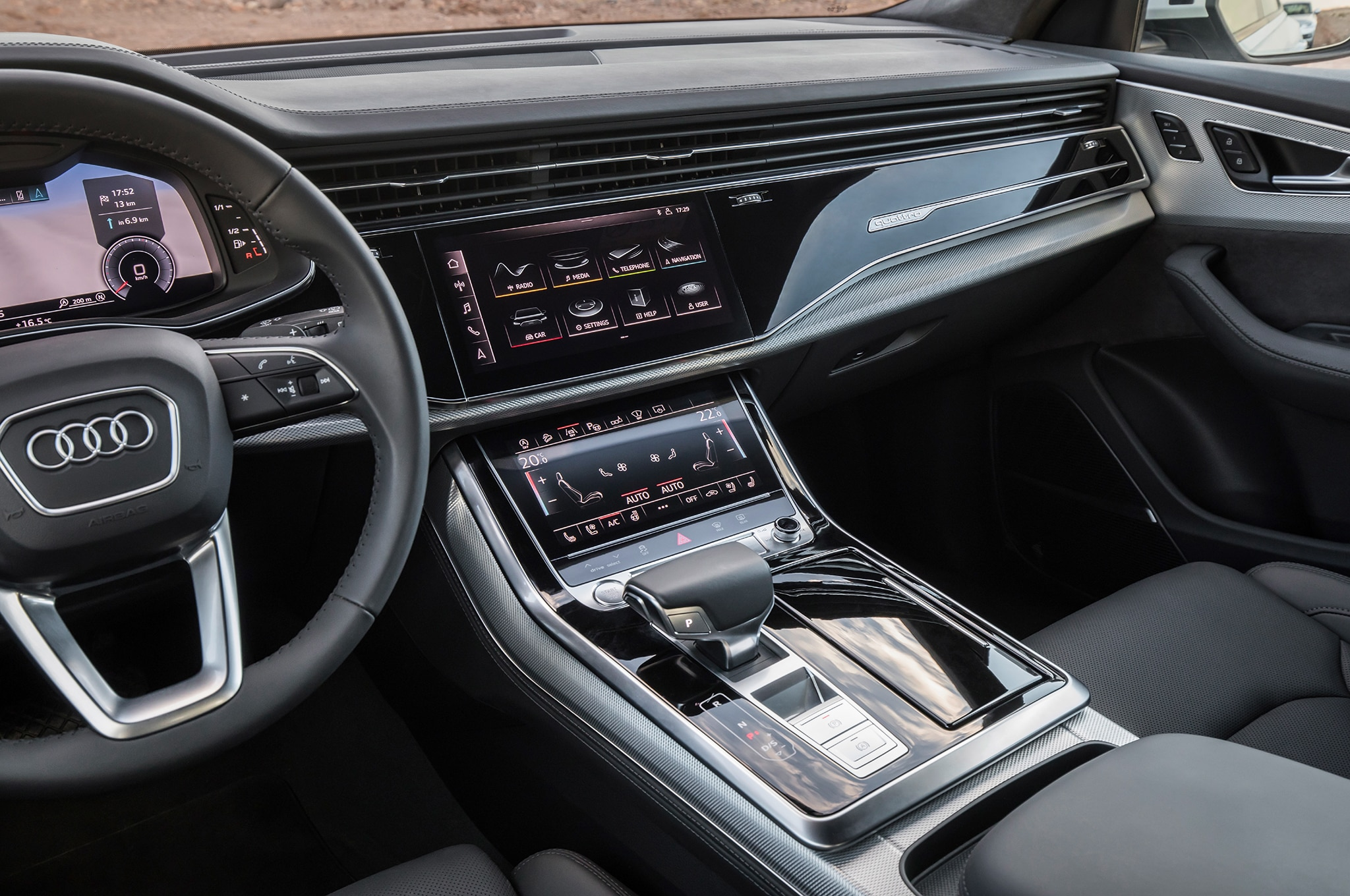 2020 Audi Q8 Design, Interior, And Price >> 2019 Audi Q8 First Drive Review Automobile Magazine