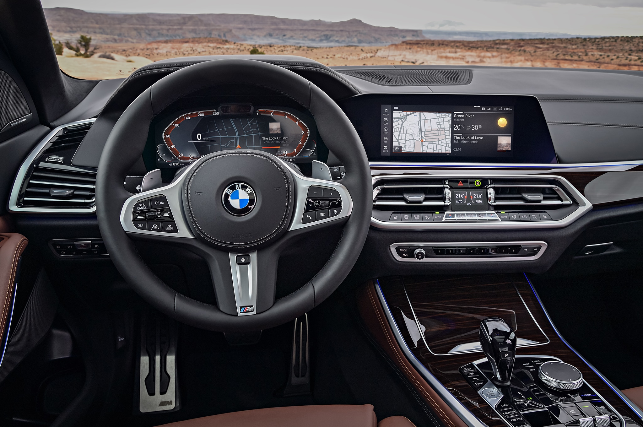 2019 BMW X5 Front Interior Drivers Side