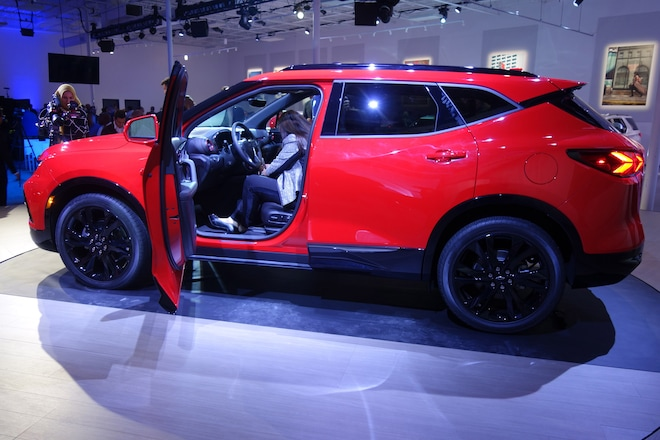 2019 Chevrolet Blazer Is Back Debuts In Atlanta Automobile Magazine
