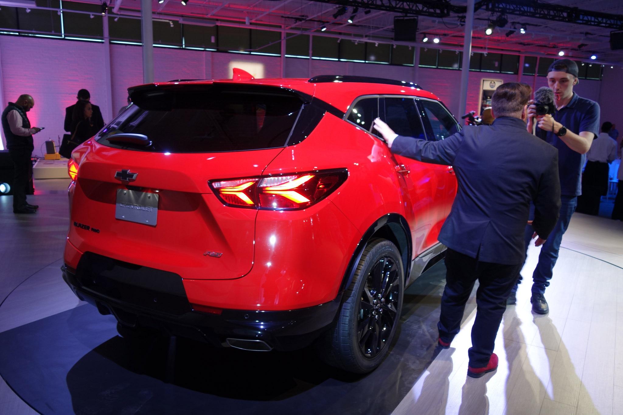 2019 Chevrolet Blazer Is Back Debuts In Atlanta