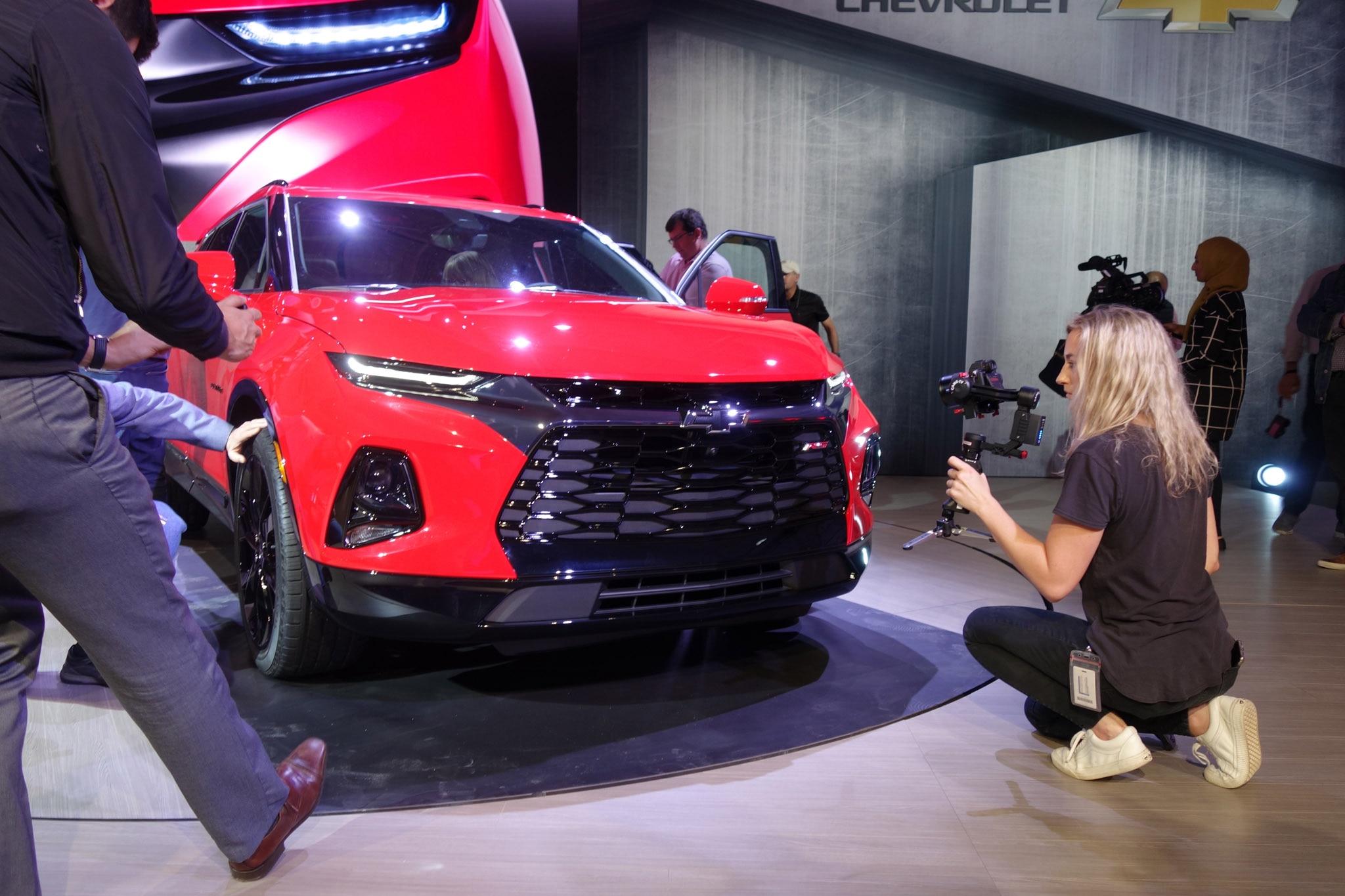 2019 Chevrolet Blazer is Back, Debuts in Atlanta ...
