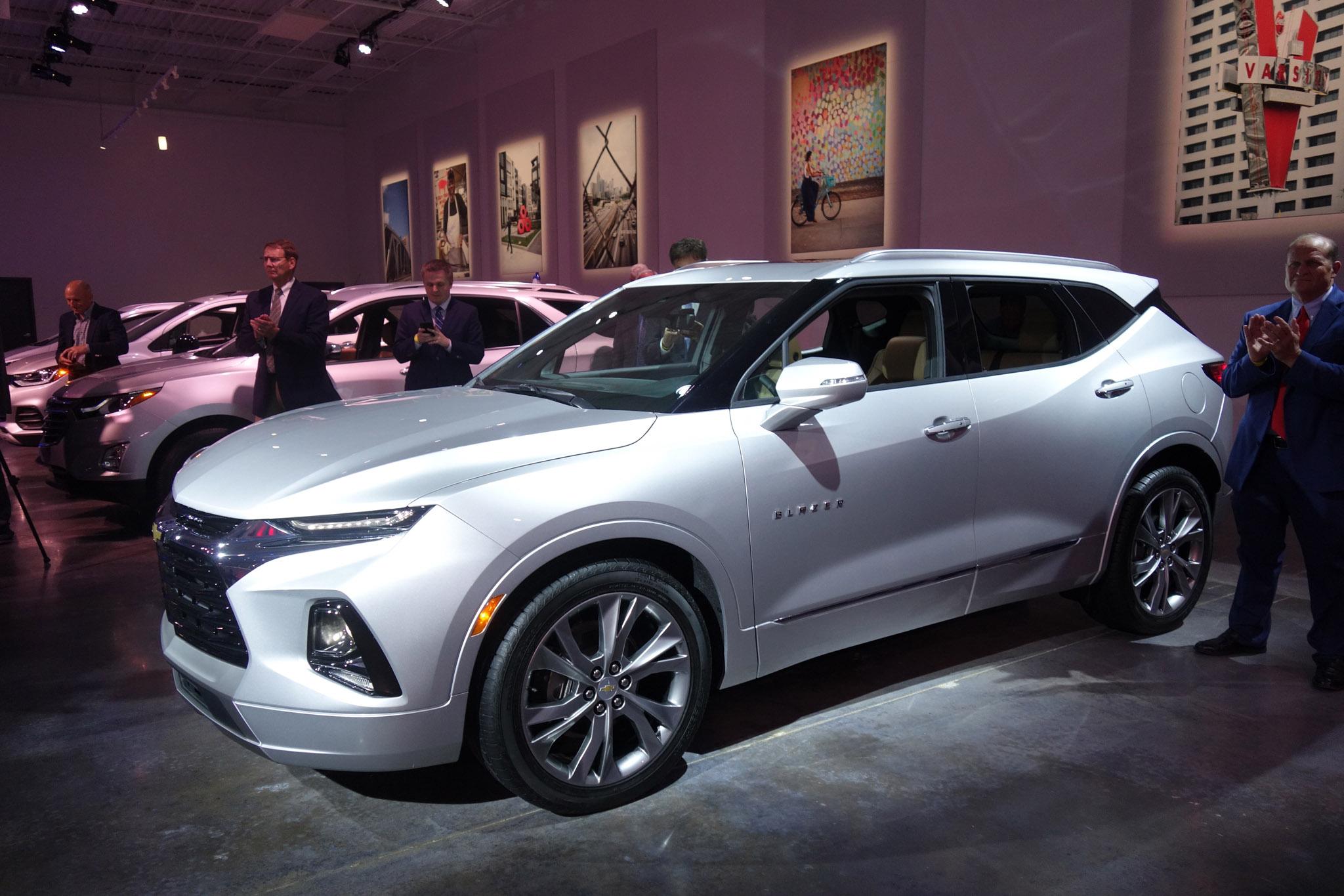 2019 Chevrolet Blazer Atlanta Reveal 78