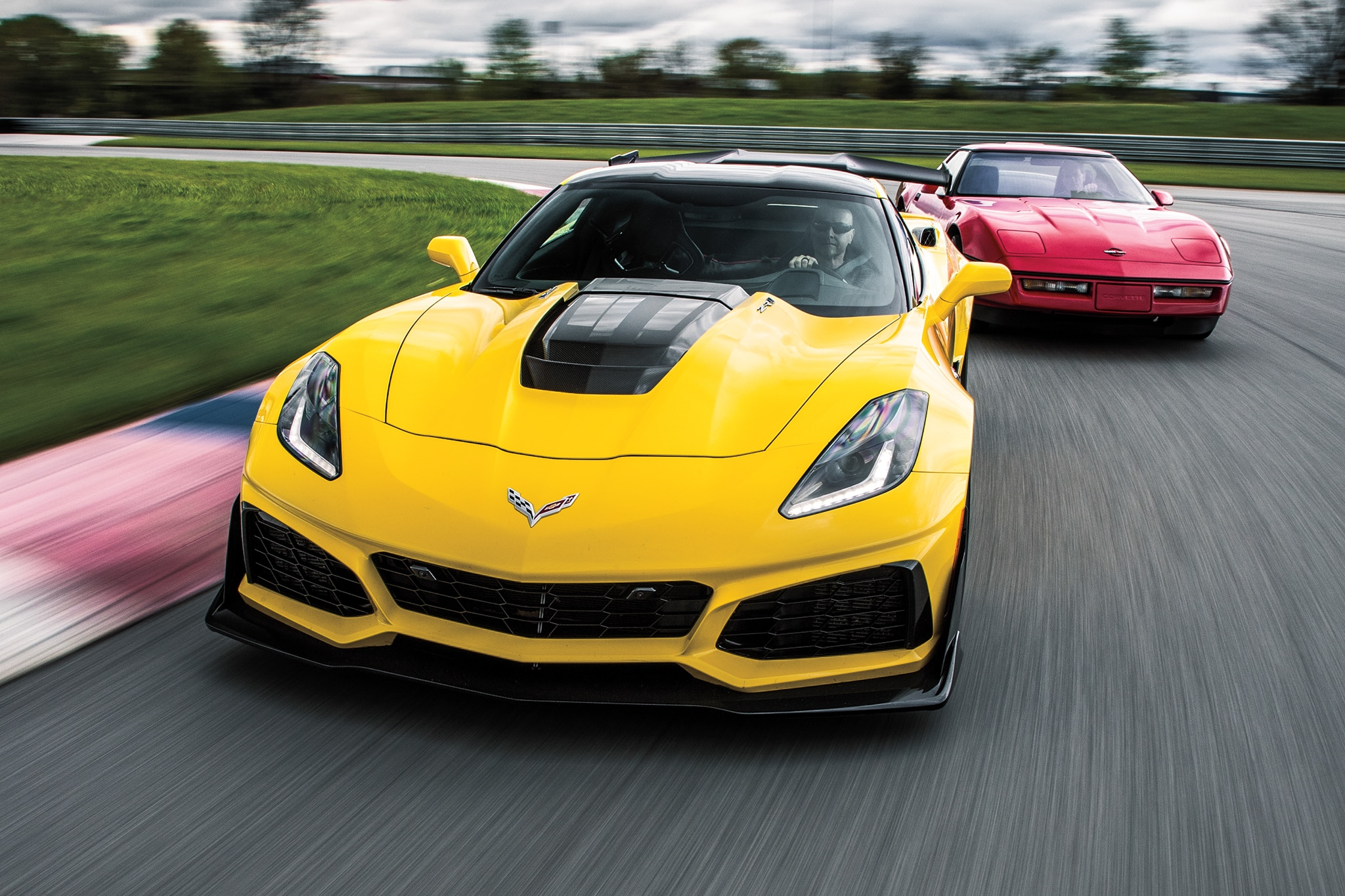 2019 Corvette ZR1 And The C7 05