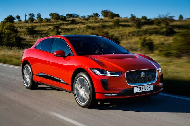 2019 Jaguar I Pace Front Three Quarter In Motion 4