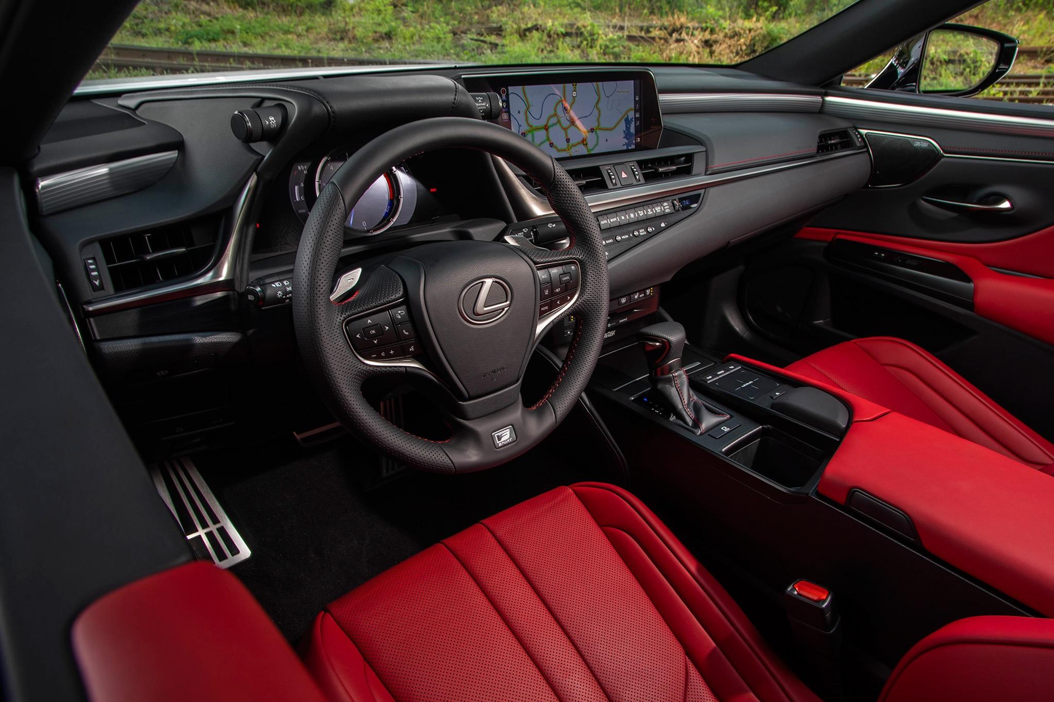 2018 Lexus Es 350 >> GALLERY: 2019 Lexus ES 350 F-Sport | Automobile Magazine