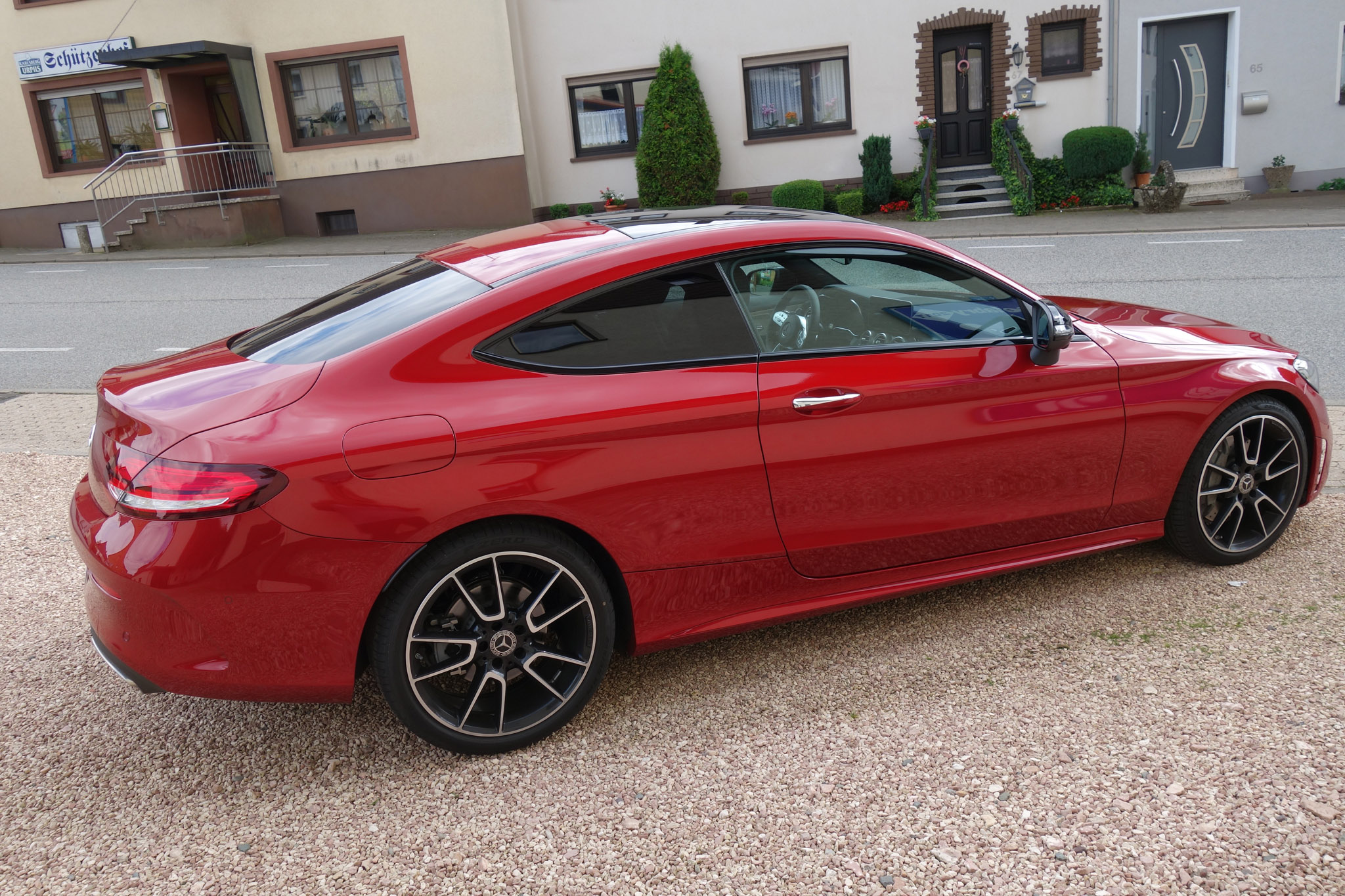 First Drive 2019 Mercedes Benz C 300 Coupe Automobile Magazine