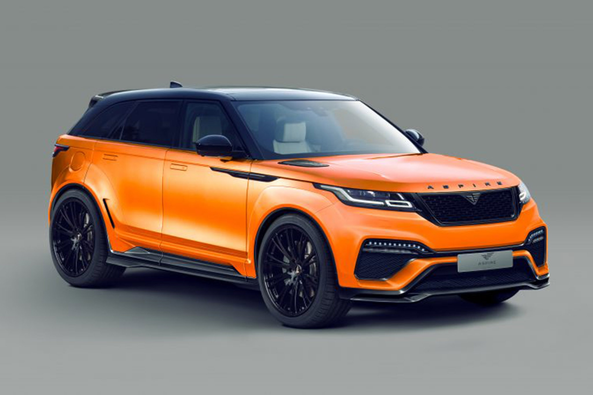 Aspire Velar 2018 Front Orange Hero