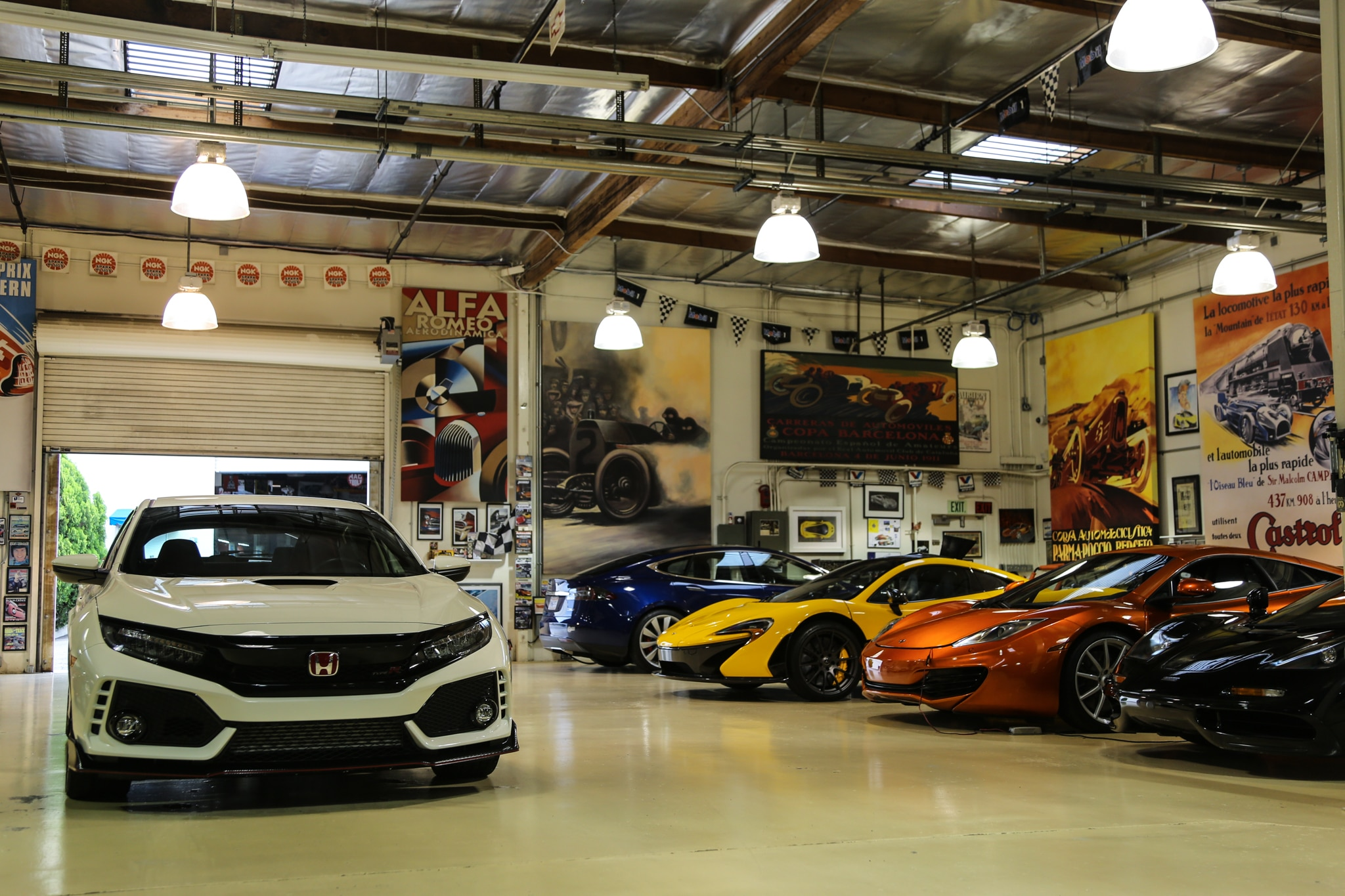 Honda Civic Type R At Jay Lenos Garage 8377