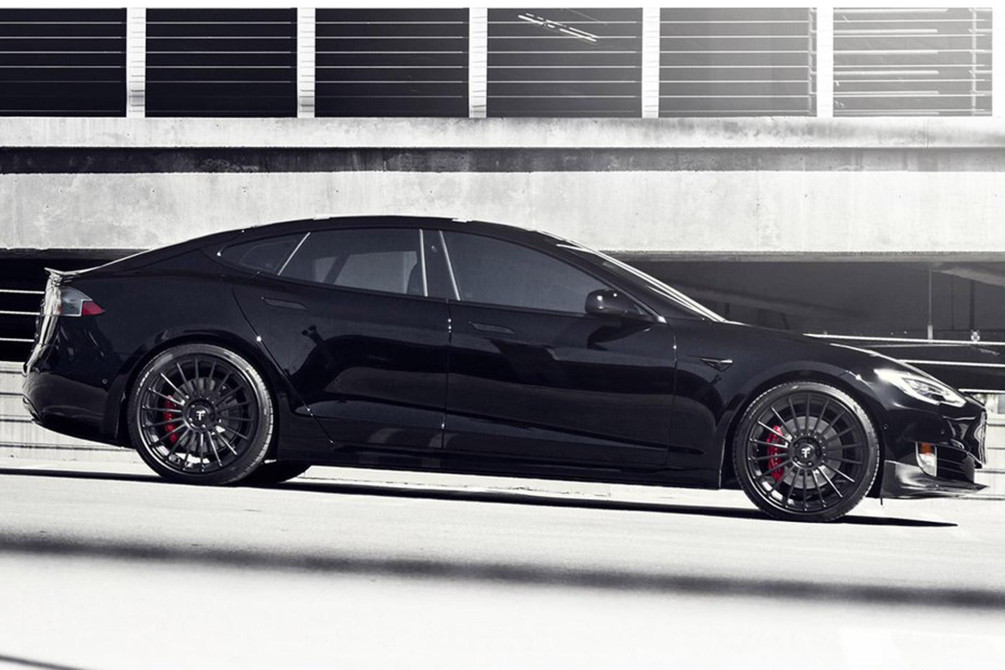Project Malibu Tesla Model S P100D Hero