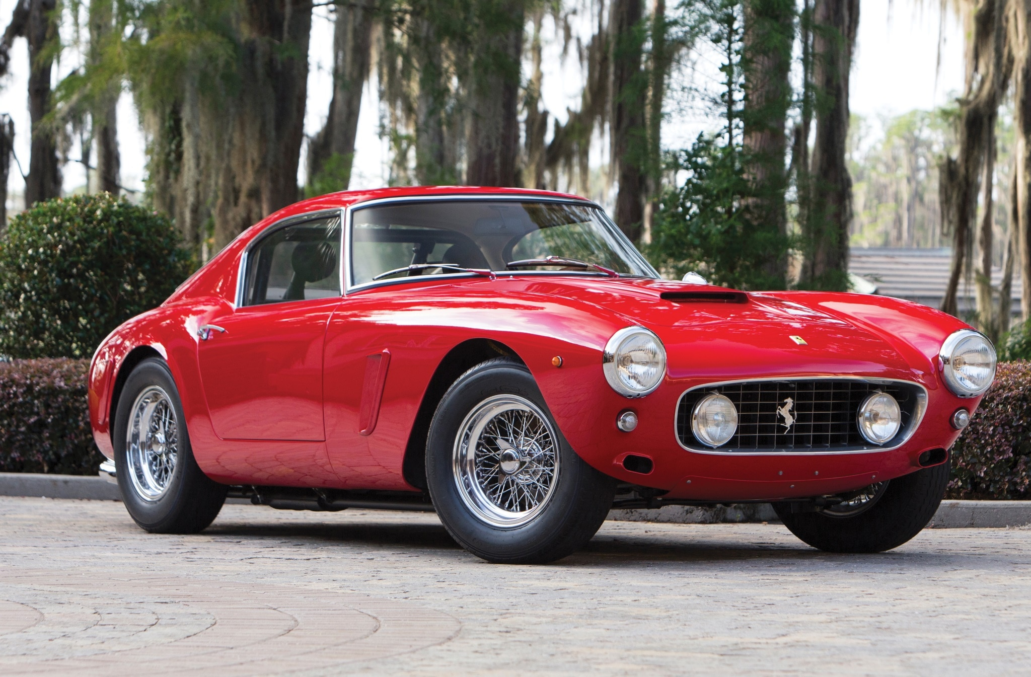 1960 Ferrari 250 Gt Swb Alloy Competizione Joins Rm Sotheby S