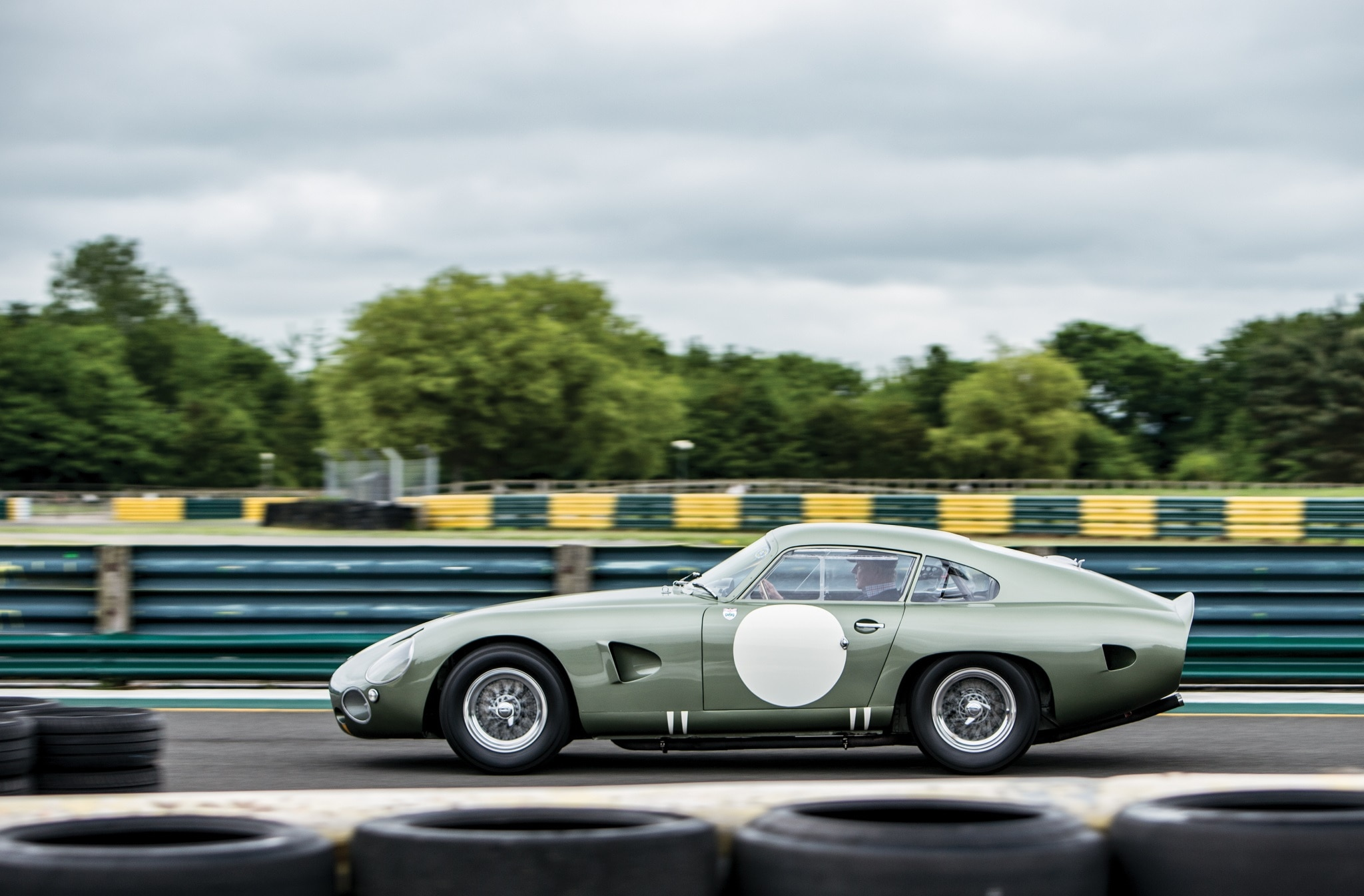1963 Aston Martin DP215 Grand Touring Competition Prototype Side Motion
